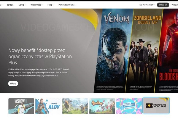سوني تعلن عن خدمة PlayStation Plus Video Pass بشكل غير مقصود