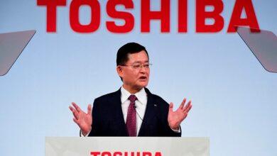 Photo of استقالة الرئيس التنفيذي لشركة توشيبا اليابانية وسط خلاف حول عرض استحواذ