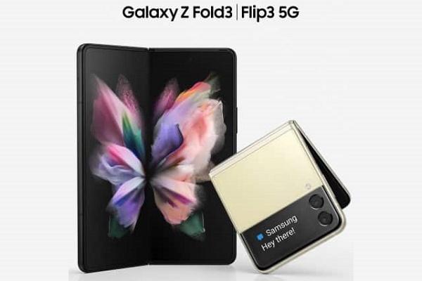صور لهاتفي Galaxy Z Fold 3 و Flip 3