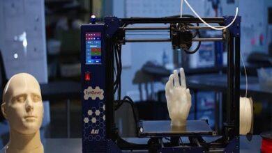 Photo of طابعة ثلاثية الأبعاد تطبع هياكل بعرض ميكرونات