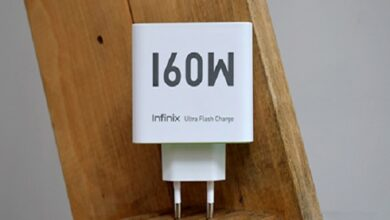 Photo of شركة Infinix تطلق تقنية شحن 160 واط لشحن الهاتف من 0 إلى 100%